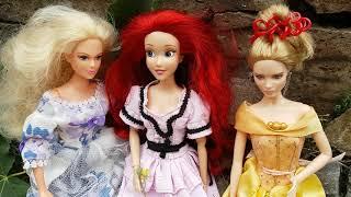34 серия. Счастливая жизнь в королевстве Тюдоров. Барби сериал. Мультик про принцесс. Играем с Барби