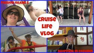 CRUISE LIFE VLOG: Carnival Dream: Beautiful Isla Pasion & Shopping in Cozumel - Day 3: Part 3