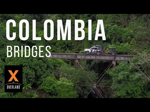 Shipping Trucks To Colombia And Driving The SCARIEST Bridges Ever! : South America S3 Ep1