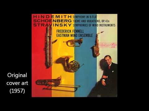 Hindemith: Symphony for Band, by the Eastman Wind Ensemble