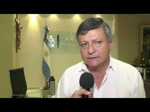 REUNIÓN DEL GOBERNADOR CON EMPRESARIO DE LA INDIA - NOTA: Gobernador y García Solá