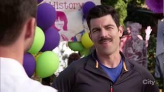 New Girl | Nick vs Schmidt's Mustache S7E1