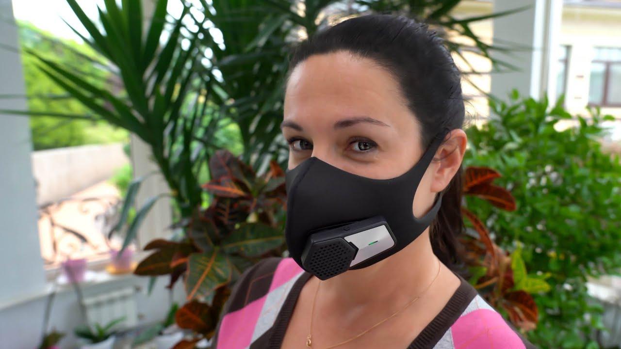 Защитная Маска с Вентилятором. Спасение от Аллергии