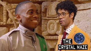 Crystal Maze Contestant Doesn't Understand how to Play Game