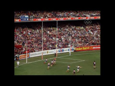 AFL 2000 Grand Final Essendon Vs Melbourne