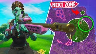 CHEATING w/ *NEW* STORM SCOUT SNIPER in Fortnite!