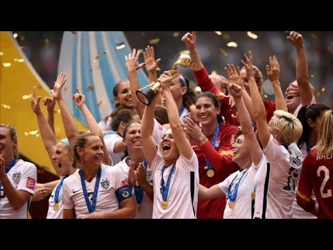 See dog tune in to watch the Women's World Cup final