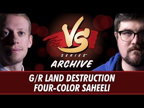 10/24/2017 - Stevens Vs. Brad: G/R Land Destruction Vs. Four-Color Saheeli [Modern]