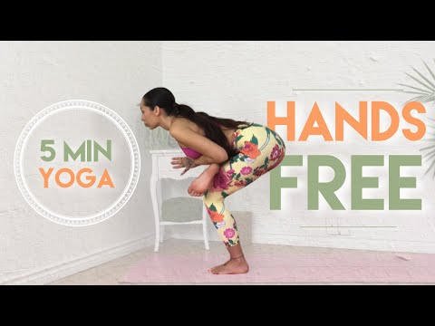 5 Minute Hands Free Yoga Flow For Strength & Balance