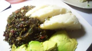 How To Cook UGALI And SUKUMAWIKI (kale) RECIPE
