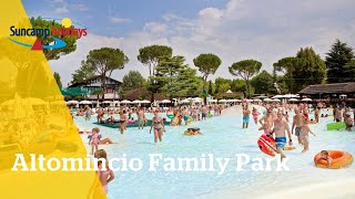 360° video zwembad op Camping Altomincio Family Park - Suncamp holidays
