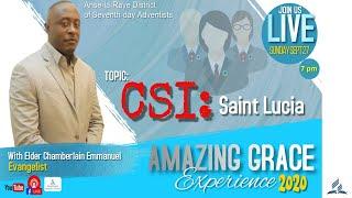 Amazing Grace Experience 2020 ll Day 7 ll Sunday Night ll 27.09.20