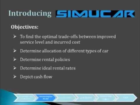 SimuCar | IEOR 131 Fall 2012