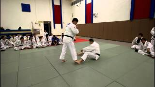 柔道示範 : 大內割  Judo Demonstration :  O-UCHI-GARI