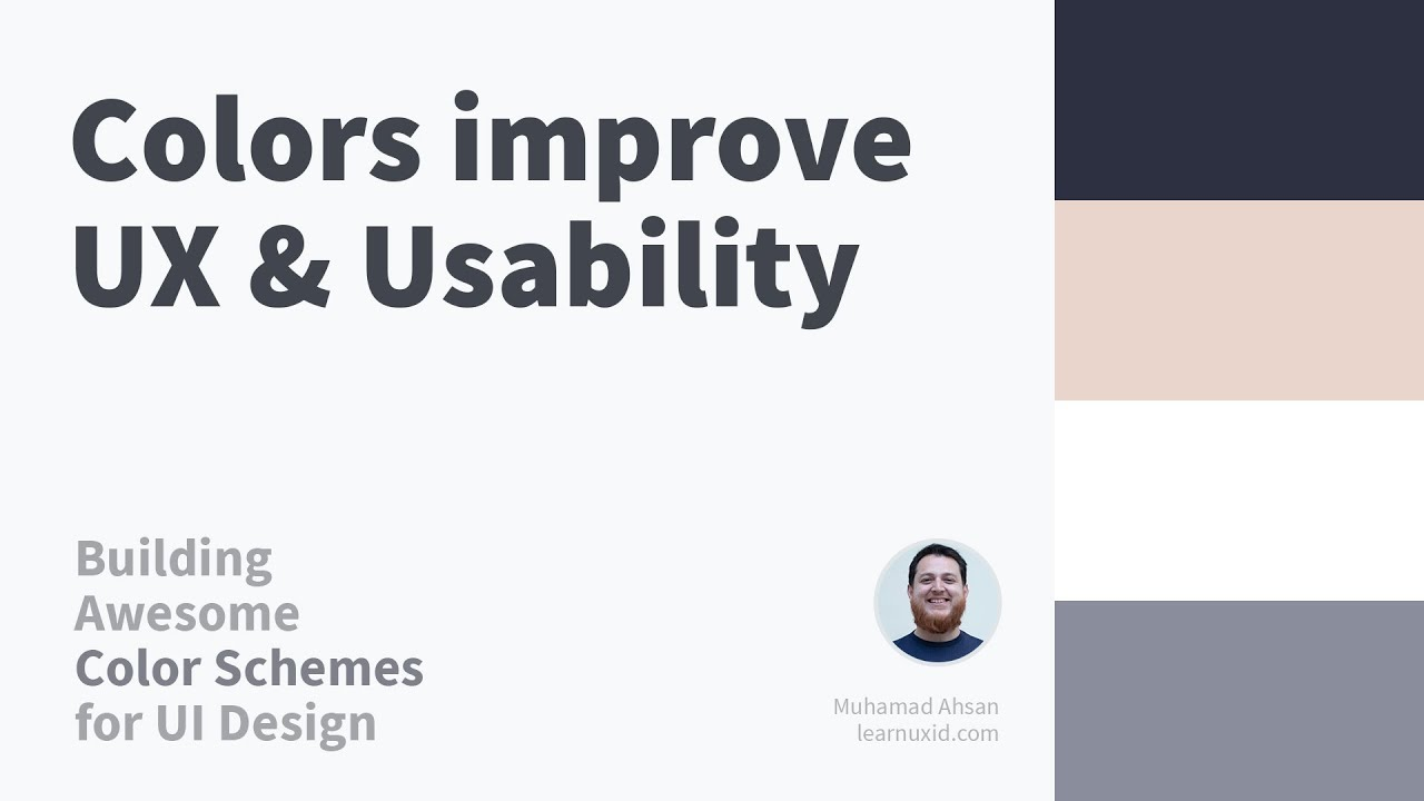 Impact of Colors on UX and Usability → Building Color Schemes for UI Design