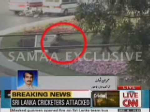 Sri lanka cricketers Attacked in Pakistan - 3 March 2009
