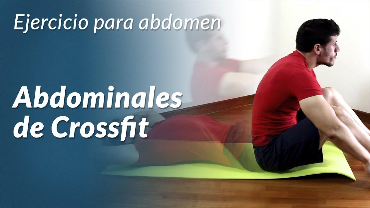 Como hacer abdominales de crossfit youtube for Abdominales