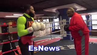 Adrien Broner Baby Girl Following In Her Dad's Footsteps EsNews Boxing