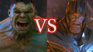 HULK vs THANOS | Avengers Infinity War Fight Scene Analysis