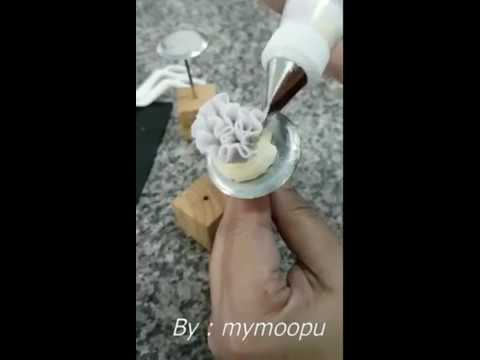 "How to make buttercream ""Carnation Flower"""