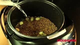 Каша гречневая по-монастырски в мультиварке Redmond RMC-M90