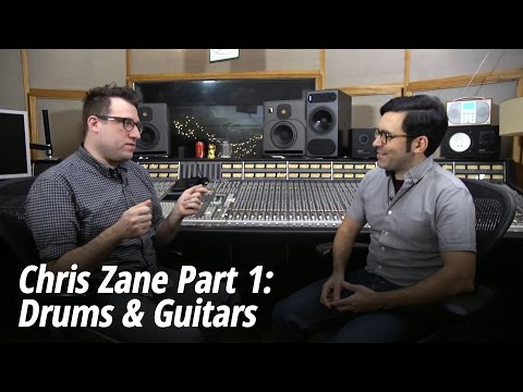 Chris Zane (Passion Pit, Holy Ghost!) Interview Part 1: Tracking/Mixing Drums & Guitars
