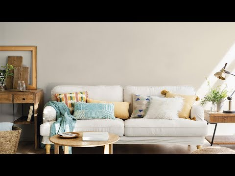 Como Decorar Un Sofa Blanco Con Cojines.Cojines El Sofa Perfecto Youtube