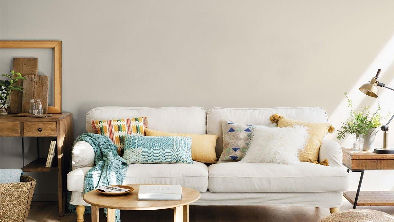 Como Decorar Un Sofa Blanco Con Cojines.Cojines El Sofa Perfecto