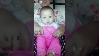 Cute and funny baby