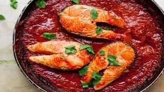 Как жарить рыбу с томатным соусом. | How to fry fish with tomato sauce.(В домашних условиях просто жарим щуку в томатном кисло - сладком соусе. Смотрите на сайте http://smotricook.info/ ..., 2014-04-17T17:17:53.000Z)