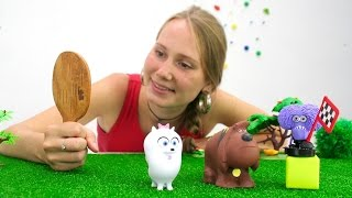 Тайная жизнь домашних животных серия 2 Гиджет и соревнования