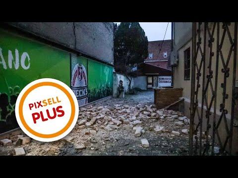 Potres Magnitude 5 Stupnjeva Pogodio Je Petrinju I Sisak Pixsell Plus Youtube