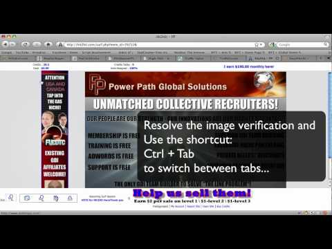 myReferrals.altervista.org - Multitab surfing video