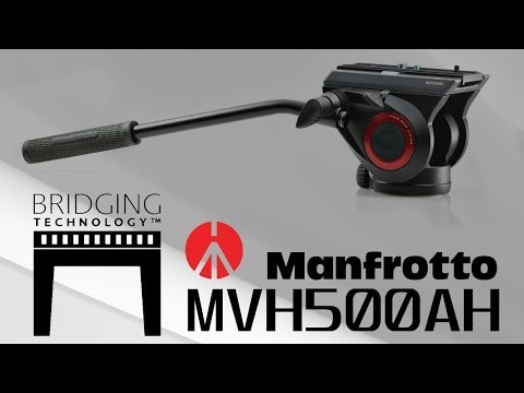 Manfrotto MVH500AH Fluid Head Review - Cheaper than the MVH502AH, but is it as good?