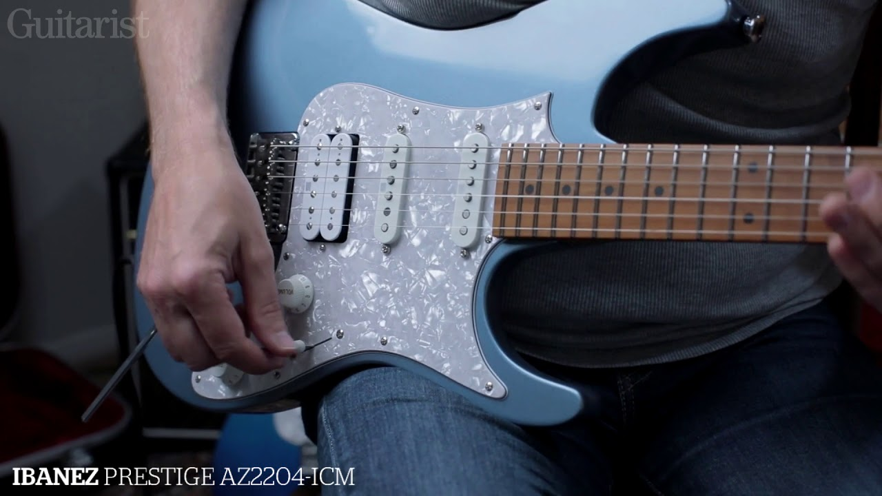 Ibanez Az Prestige And Premium Electrics A B Demo Youtube Fender Mexican Stratocaster Wiring Diagram