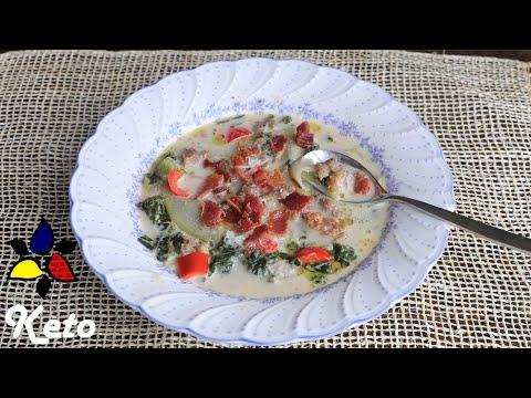 Keto Zuppa Toscana – Olive Garden Style | Keto Recipes