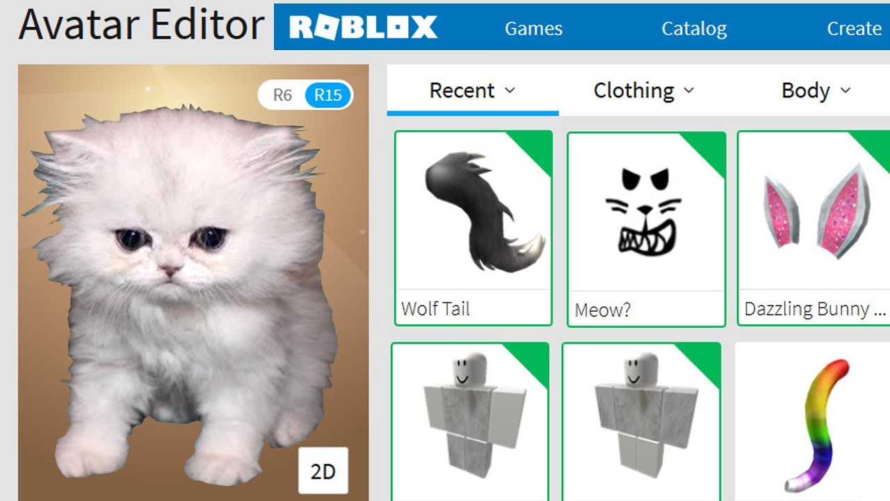 Cat Tags Roblox Roblox Creating Popularmmos A Roblox Account Youtube