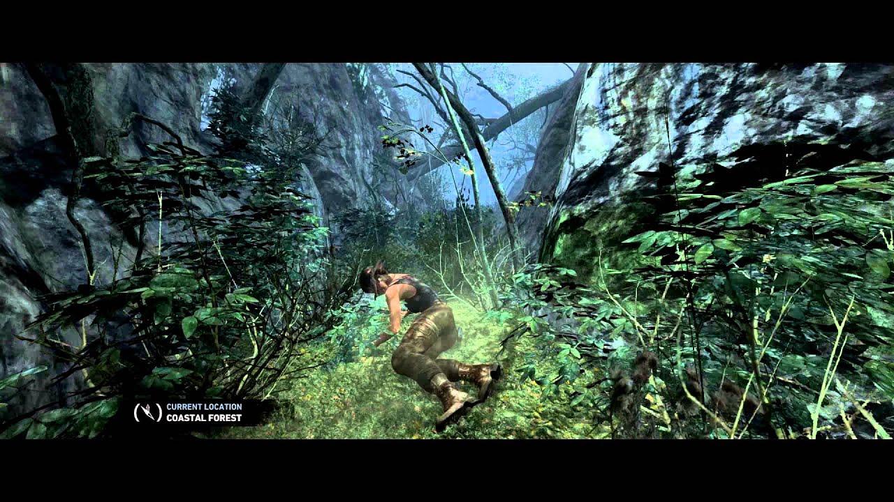 tomb raider clip 2 gtx 770 ultra settings pc 2560 x 1080 youtube