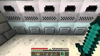 Buildcraft Quarry & Industrialcraft Solar Panels Ep5 - Minecraft 1.1 Mods Series 1 Letsplay