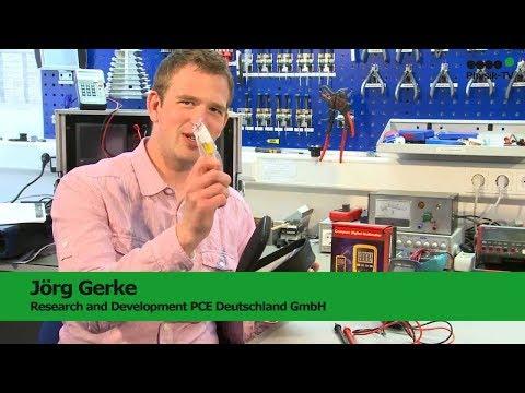 Le multimètre PCE-DM12   PCE Instruments