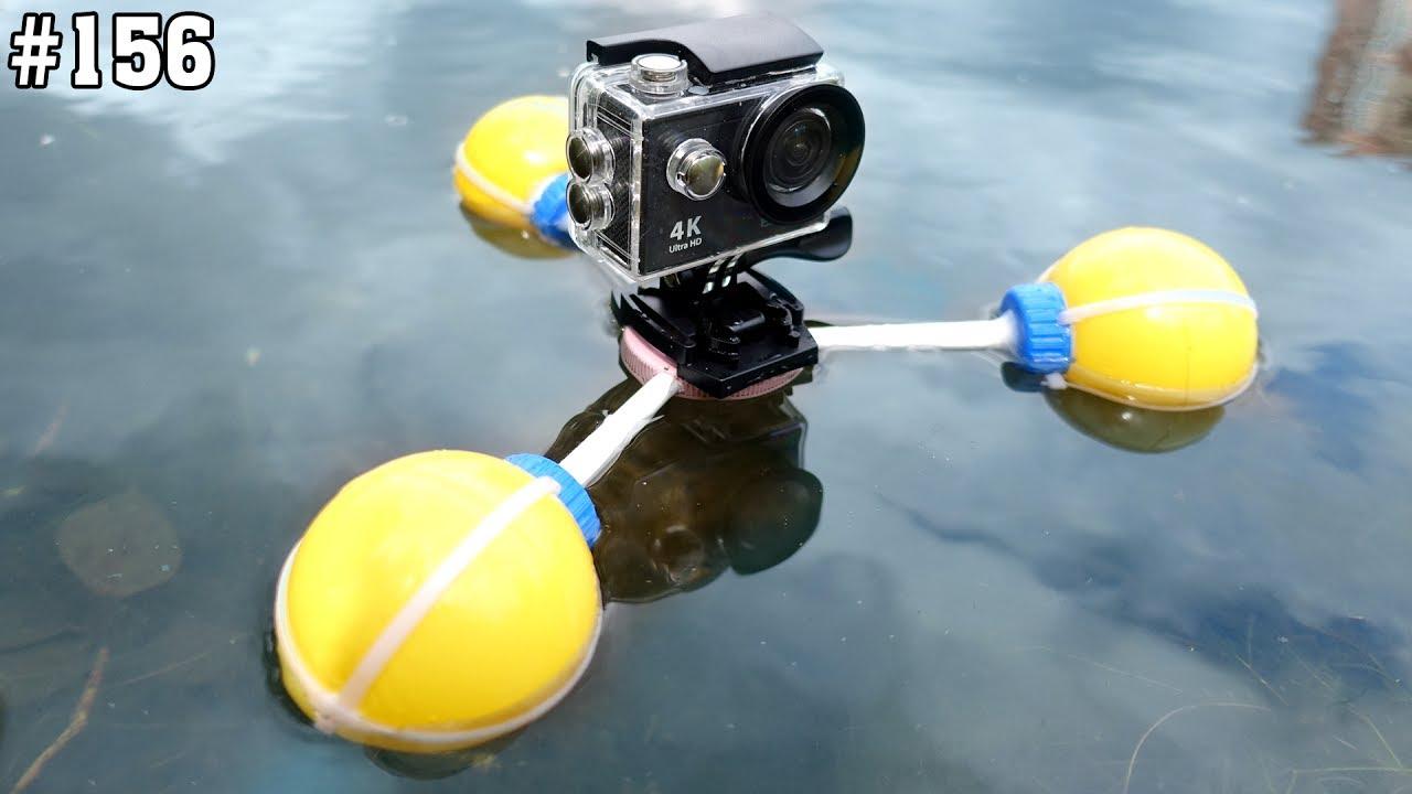 поплавок для экшн камеры своими руками