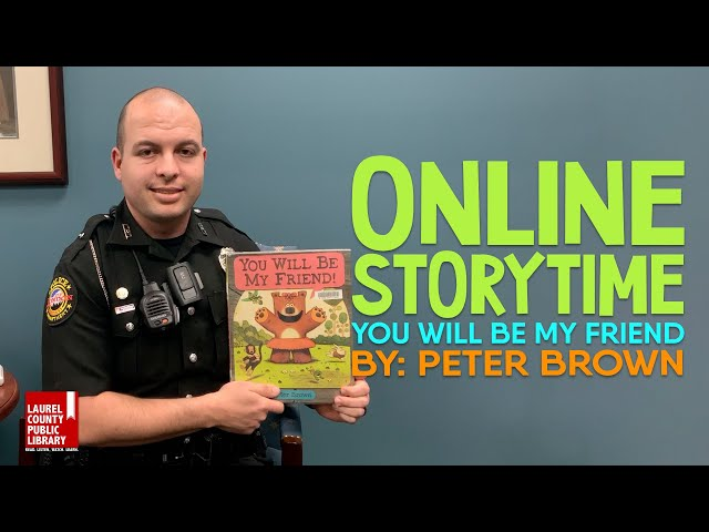 Online Storytime: You Will Be My Friend by Peter Brown