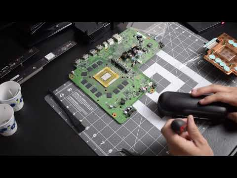 IC Graphite Thermal Pad on  Xbox One X