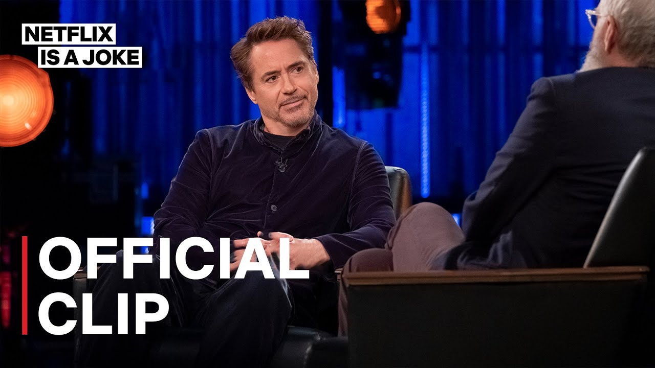 My Next Guest Needs No Introduction with David Letterman | Robert Downey Jr.'s Iron Man Helmet