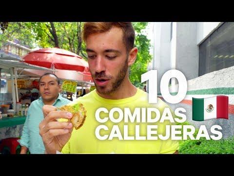 10 COMIDAS CALLEJERAS MEXICANAS QUE DEBES PROBAR (4K)   enriquealex