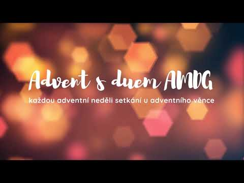 1. neděle adventní s duem AMDG