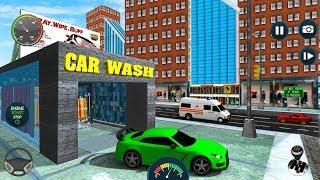 Sports Car Wash Gas Station