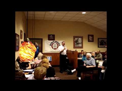 Spartanburg County SC Sheriff Chuck Wright Speaks a