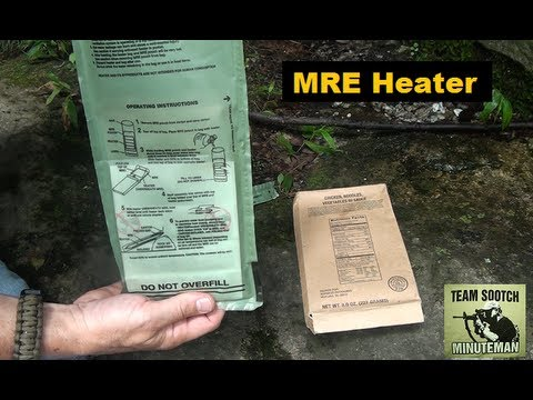 How To Use the MRE Heater