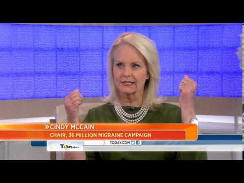 Cindy McCain: Migraine pain is 'indescribable'
